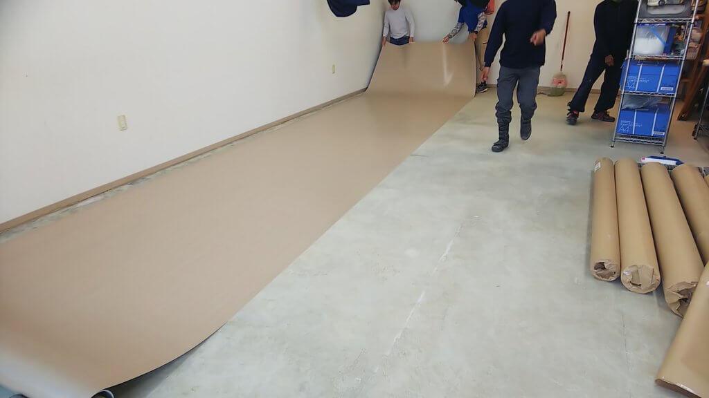 床長尺シート貼替(西原町)