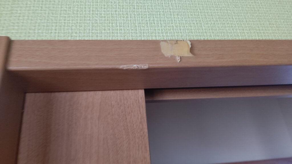 木製建具キズリペア